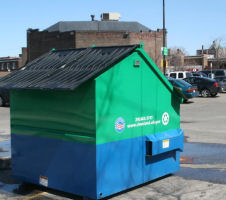recycling at shaker square
